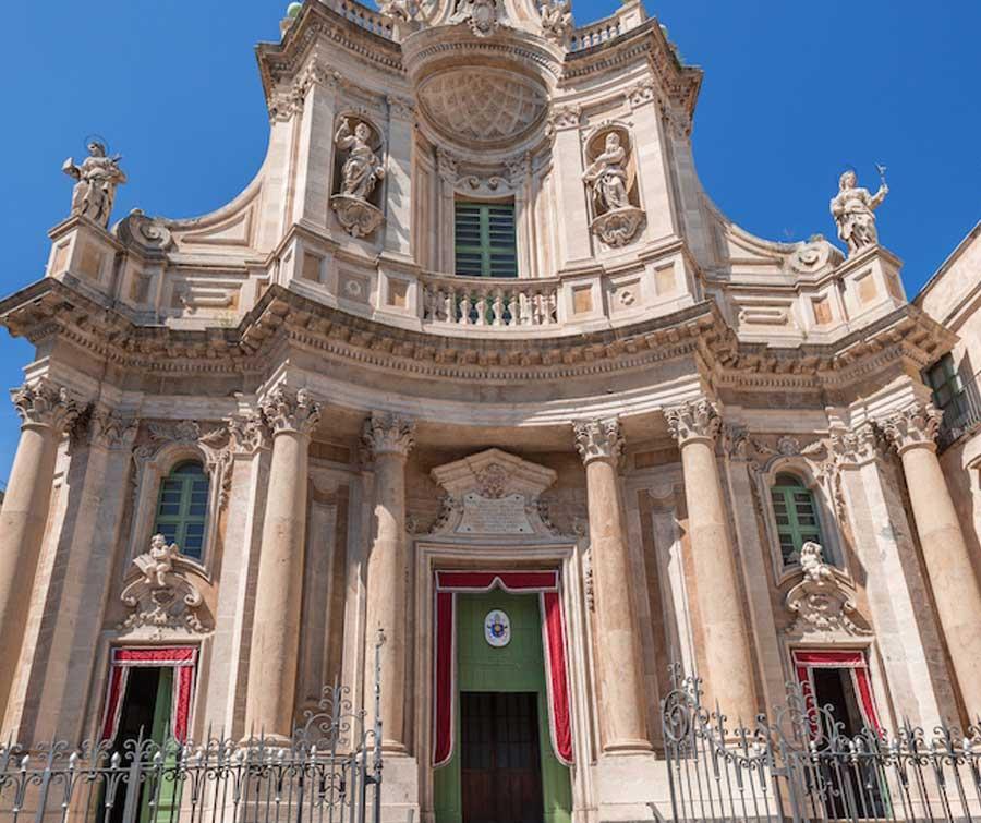 Catania, Etna, Catania skyline
